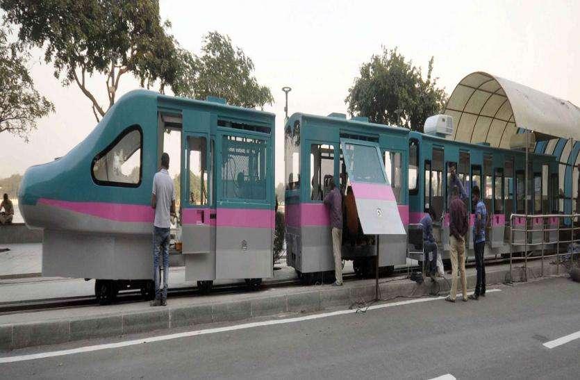 कांकरिया लेकफ्रंट पर 'बुलेट ट्रेन'!