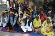 बीजेपी की सहयोगी दल सुभासपा ने फिर बढ़ाई टेंशन, इस मांग को लेकर दिया धरना, आंदोलन की चेतावनी