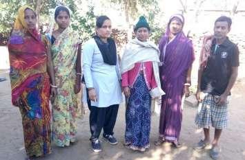 अपना घर ने दिलाया परिवार: सरस्वती पहुंची अपने घर में  बेटी के अपहरण ने कर दिया था पागल