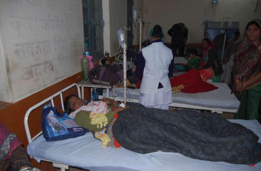 मेहमदपुर गांव में पीलिया का प्रकोप, 10 और मरीज पहुंचे अस्पताल