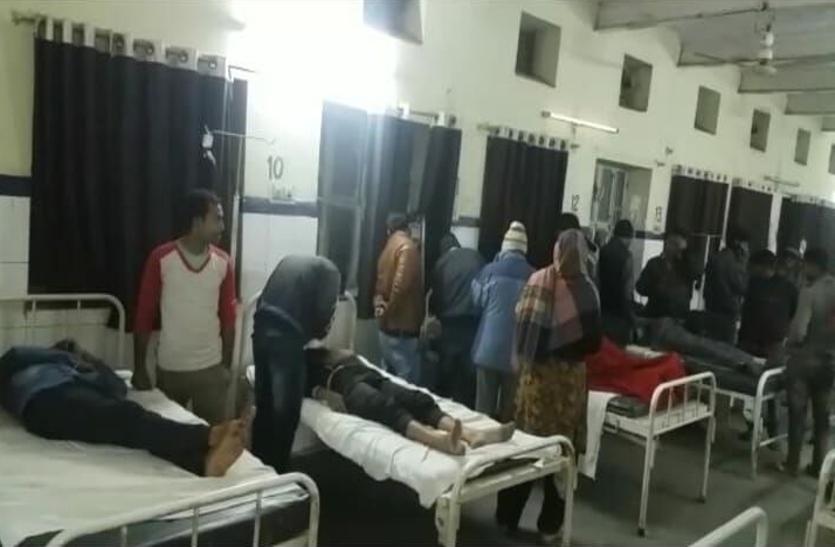 VIDEO: धौलपुर में देर रात दो पक्षों के मामूली झगडे ने लिया बड़ा रूप, दोनों ओर से फयरिंग, छर्रे लगने से नौ घायल