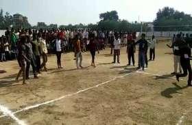 पारंपरिक खेलों का हुआ आयोजन, युवाओं के अलावा बुजुर्गों ने भी लिया भाग
