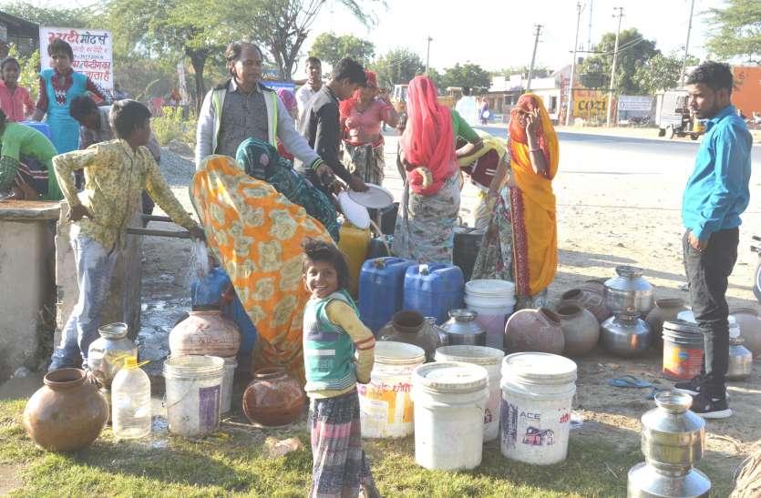 मगरे के 167 गांव महज चख रहे पानी...