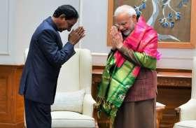 तेलंगाना के सीएम ने पहली बार प्रधानमंत्री मोदी से की मुलाकात, रखी कई मांग
