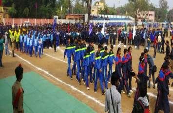 Video: राजनांदगांव में 64 वीं नेशनलस्कूल गेम्स का आगाज, तीन खेल विधाओं में दमखम दिखाने जुटे देशभर के खिलाड़ी