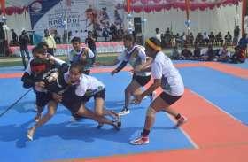 डे-नाइट प्रतियोगिता: कबड्डी में इंदौर का दबदबा, रीवा टीम का प्रदर्शन बेहतर