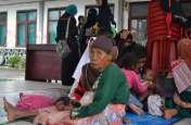 सुनामी के बाद पीड़ितों के सामने भोजन की समस्या