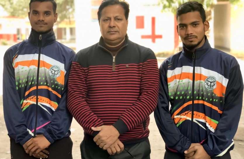 रिक्शा चालक और मजदूर के बेटे नेशनल टूर्नामेन्ट में खेलेंगे