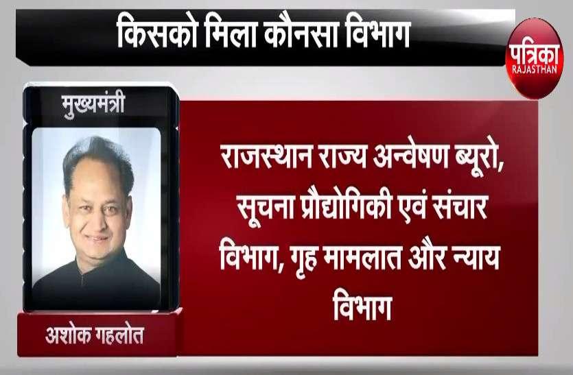राजस्थान मंत्रिपरिषद