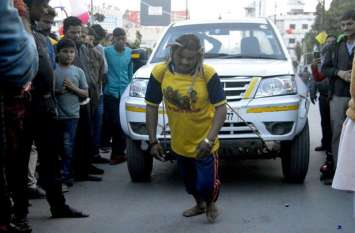 Photo Gallery :- देखें तस्वीर, राहगीरी डे पर रायगढ़ में लोगो ने जमकर मस्ती की