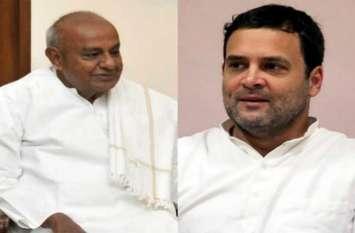कर्नाटक में कांग्रेस को लग सकता है बड़ा झटका, देवेगौड़ा ने अकेले लोकसभा चुनाव लड़ने के दिए संकेत