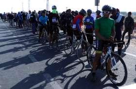 इंटर यूनिवर्सिटी साइक्लिंग में बीकानेर के मनीष थोरी ने जीता कांस्य