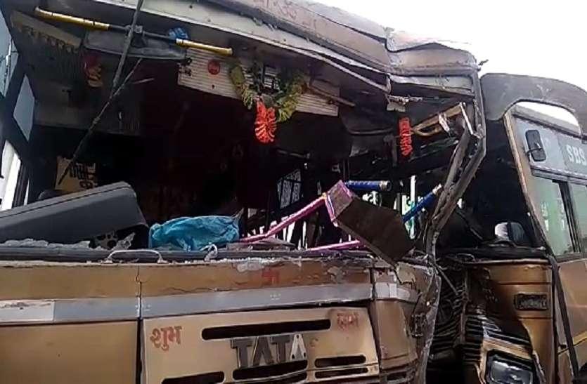 कोहरे का कहर: नैनीताल हाइवे पर यात्रियों से भरी बसों में आमने-सामने भिडंत,एक दर्जन यात्री घायल