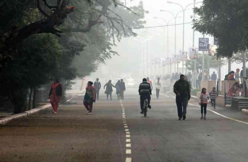 VIDEO  : उदयपुर व राजसमंद में रही मौसम की सबसे सर्द रात, देखें यह खास वीडियो