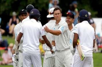 सिर्फ 14 गेंद में न्यूजीलैंड ने श्रीलंका को किया ऑलआउट, दूसरे टेस्ट में 423 रन से की जीत दर्ज