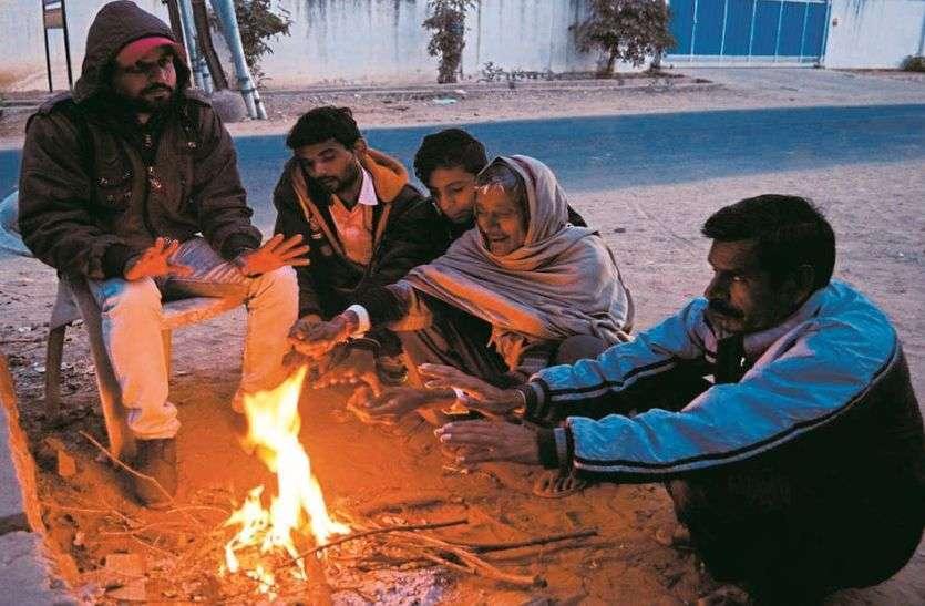 शनिवार रात रही सीजन की सबसे सर्द रात, पांच डिग्री गिरा जयपुर का तापमान