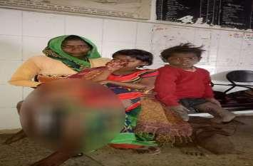 BIG BREAKING: देशी बम के धमाके में तीन घायल