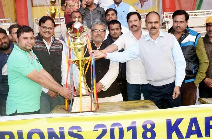 बनखेड़ी ने जीता करेली क्रिकेट महाकुंभ सुल्तान करेली बनी उपविजेता