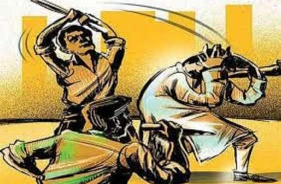 थम नहीं रहा जमीन का विवाद, अब कुशीनगर में युवक को काट डाला