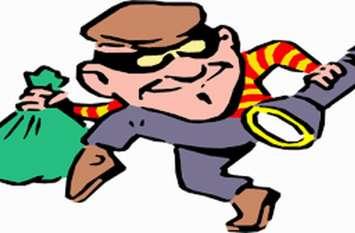 नववर्ष की पहली रात चोरों ने मचाई धमा चौकड़ी