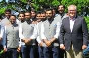 ऑस्ट्रेलिया के प्रधानमंत्री ने की टीम इंडिया के खिलाड़ियों से मुलाकात,  देखें तस्वीरें