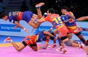Pro Kabaddi league : यूपी ने दिल्ली को हराया, क्वालीफायर-2 में गुजरात से भिड़ेगी