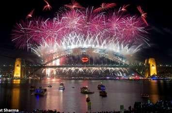 वीडियो: सिडनी के हार्बर ब्रिज पर नववर्ष का जश्न