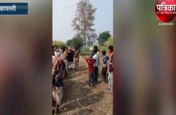 गन्ने के खेत में मिली अज्ञात महिला की लाश
