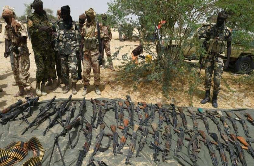 बोकोहराम के खिलाफ सेना की बड़ी कार्रवाई, मार डाले गए 280 व्रिदोही