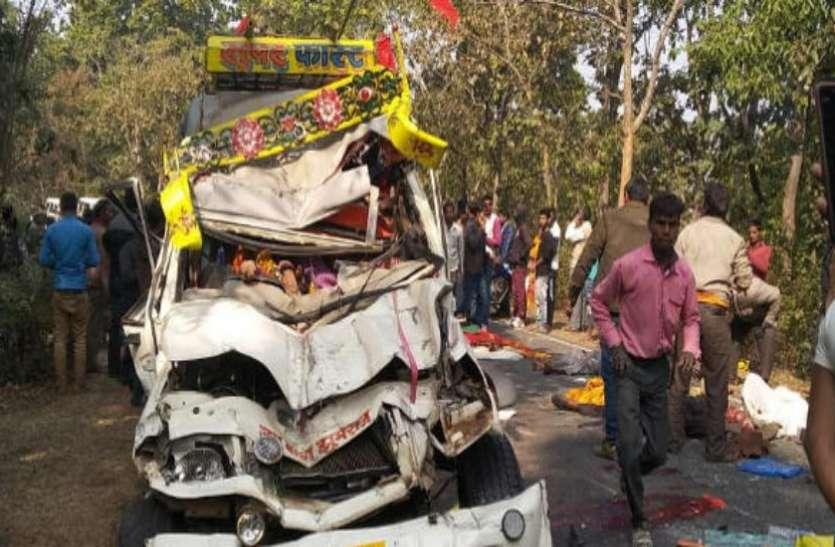 झारखंड में दर्दनाक हादसा, दो गाड़ियों में जबरदस्त भिड़ंत, सड़क पर बिछ गई लाशें