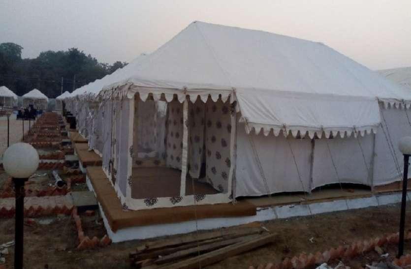 कुंभ मेले में पर्यटन विभाग पहली बार बसा रहा टेंट कालोनी, आम श्रद्धालुओं के लिए शुलभ होंगी व्यवस्थाएं