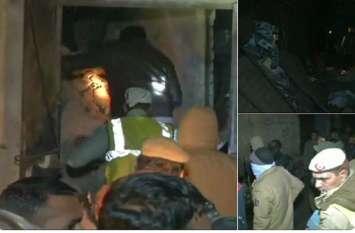 दिल्ली: मोतीनगर में पंखा फैक्ट्री में कंप्रेसर फटने से बड़ा हादसा, 6 लोगों की मौत