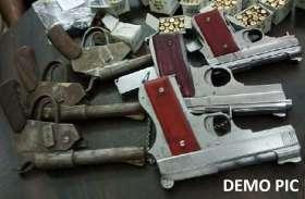 पुलिस राडार में दर्जन भर से अधिक हथियारों के शौकीन युवक
