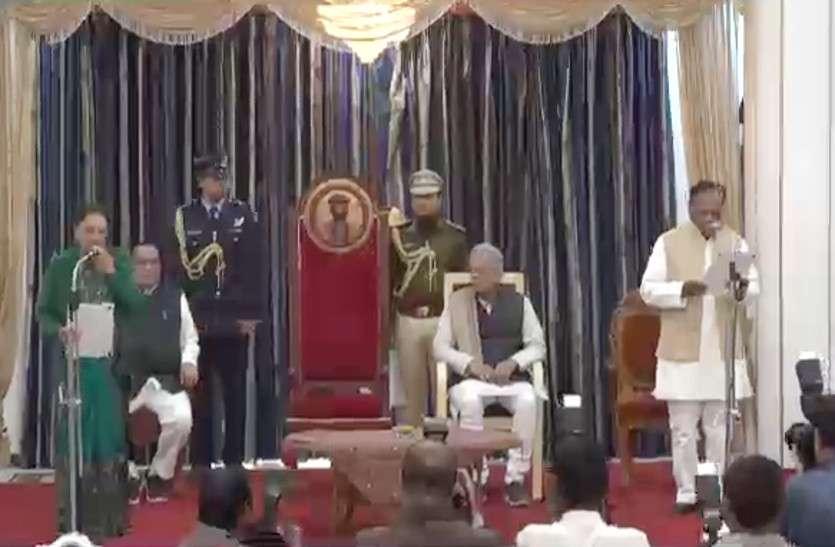 कांग्रेस के वरिष्ठ विधायक रामपुकार सिंह बने प्रोटेम स्पीकर, गवर्नर आनंदी बेन ने दिलाई शपथ