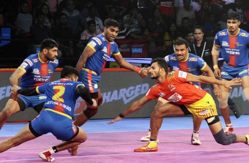 Pro Kabaddi league : यूपी को 7 अंकों से हराकर गुजरात लगातार दूसरी बार फाइनल में