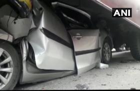 बिहार: मुजफ्फरपुर में कोहरा बना काल, 15 वाहन टकराने से एक की मौत