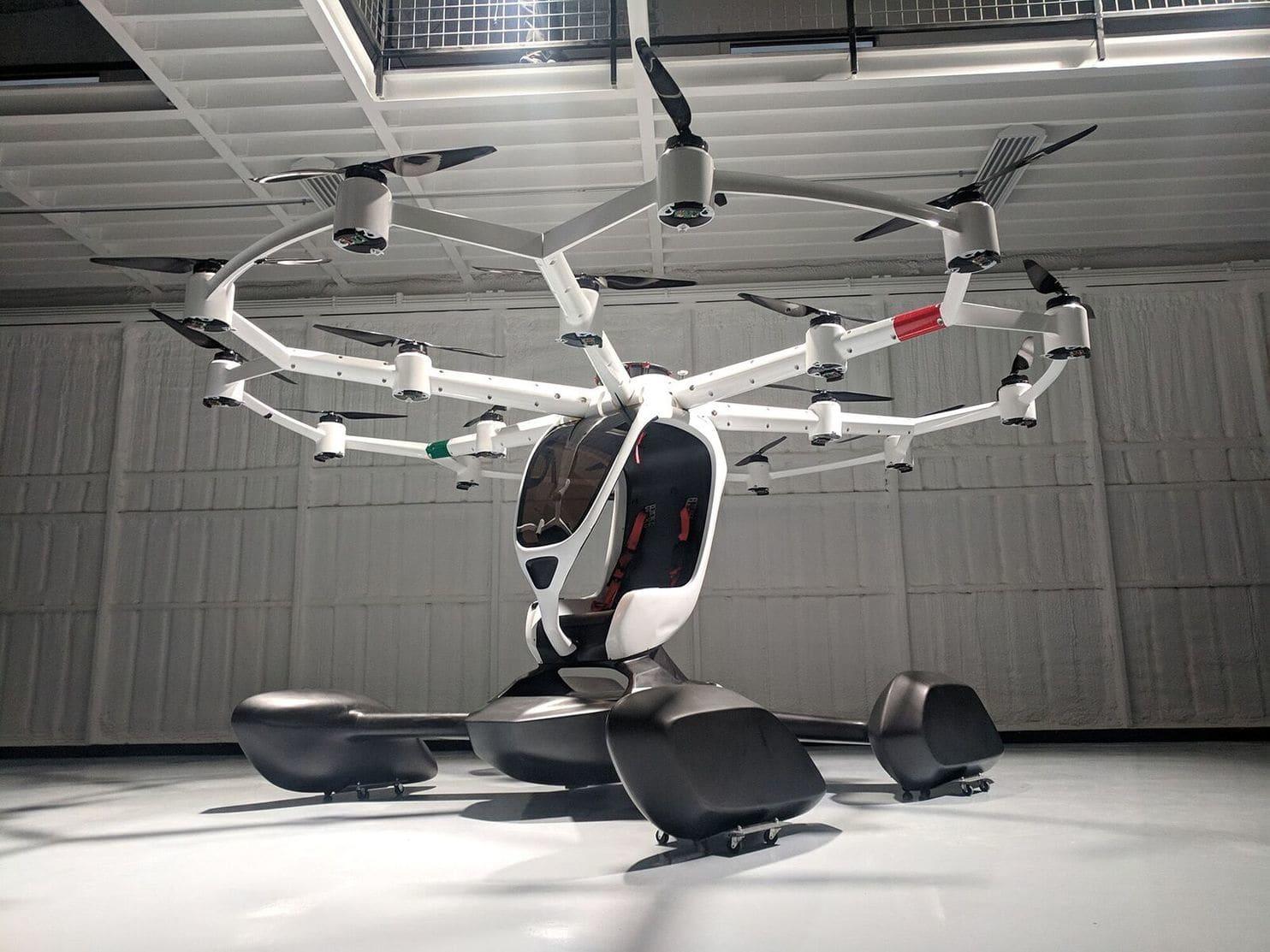 भविष्य की यात्रा को सुगम बनाएगा पैसेंजर ड्रोन
