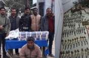 एसटीएफ ने किया सबसे बड़ा भंडाफोड़, अवैध हथियारों का जखीरा बरामद, देखकर पुलिस अधिकारियों के उड़े होश