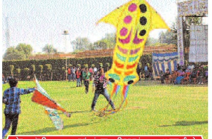 पहली बार उड़ेगी 50 फीट की पतंग, एक डोर में नजर आएंगी 1000 पतंगें