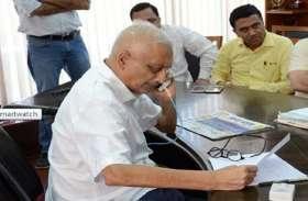 कांग्रेस ने राष्ट्रपति को लिखा खत, गोवा सीएम की सुरक्षा को लेकर लगाई गुहार