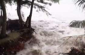 वीडियोः थाईलैंड में तूफान से जनजीवन पर पड़ा असर