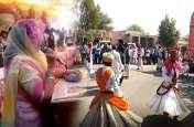 विजयी होने के बाद पहली बार ससुराल पहुंची विधायिका, गैर नृत्य कर ग्रामीणों ने किया बहू का स्वागत