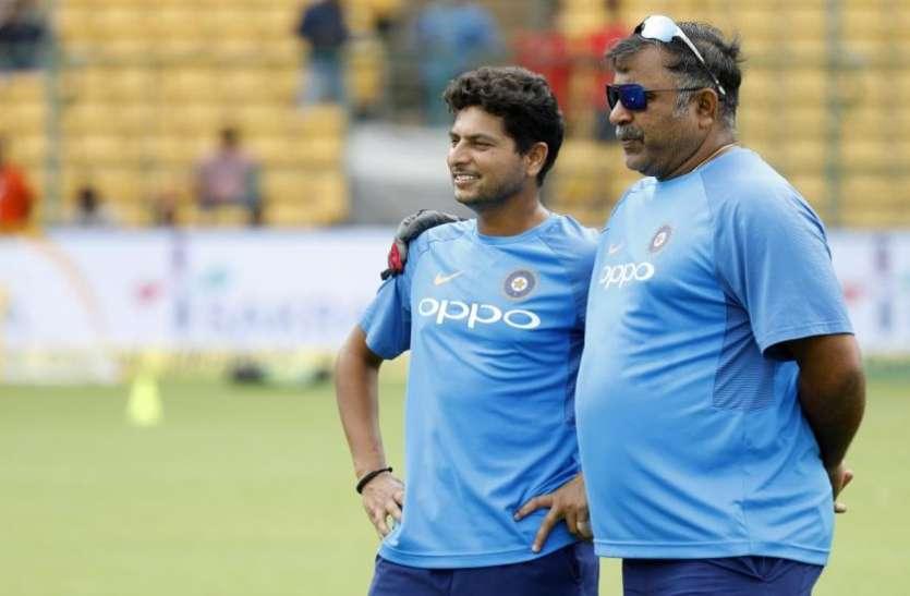 IND vs AUS: कुलदीप यादव के रिकॉर्ड प्रदर्शन से खुश गेंदबाजी कोच ने तारीफ में कही ये बातें