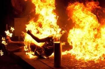 यूपी के इस चर्चित जिले में गैंगरेप पीड़िता को जिंदा जलाया, परिजनों में मचा कोहराम