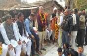राज्य मंत्री ने गांवों का दौरा कर सुनी समस्याएं