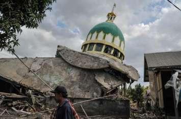 इंडोनेशिया में फिर से भूकंप के झटके, सुनामी की चेतावनी नहीं