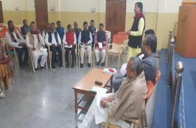 लोकसभा चुनाव की तैयारियों में जुटी झारखंड बीजेपी,चुनाव प्रभारी मंगल पांडेय ने पार्टी पदाधिकारियों के साथ की पहली बैठक