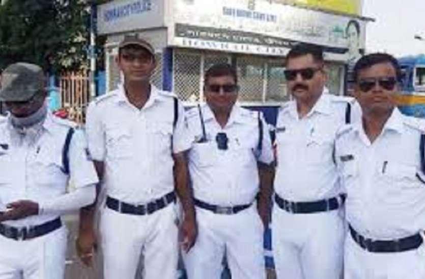 हावड़ा शहर में दो हजार पुलिस बल रहेंगे तैनात