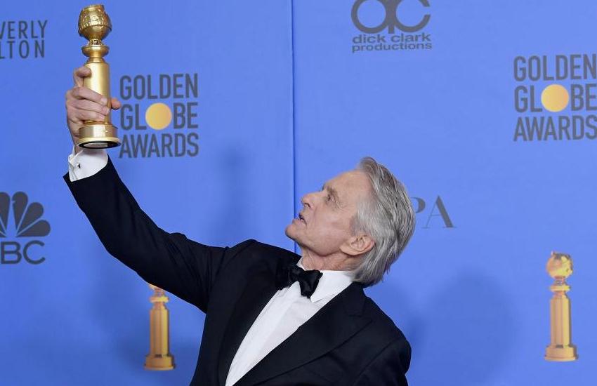Golden globes awards 2019: माइकल डगलस ने पिता को समर्पित किया अवॉर्ड