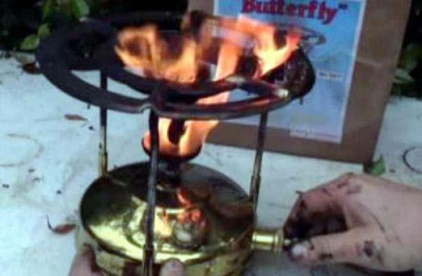 चाय बनाते वक्त आग की चपेट में आई महिला, हुई मौत